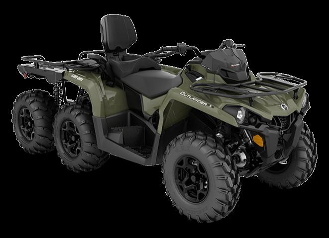 Can-Am Outlander MAX 6×6 DPS 450 2019