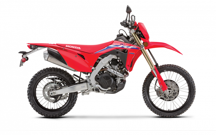 Honda CRF450RL Rouge extrême 2021