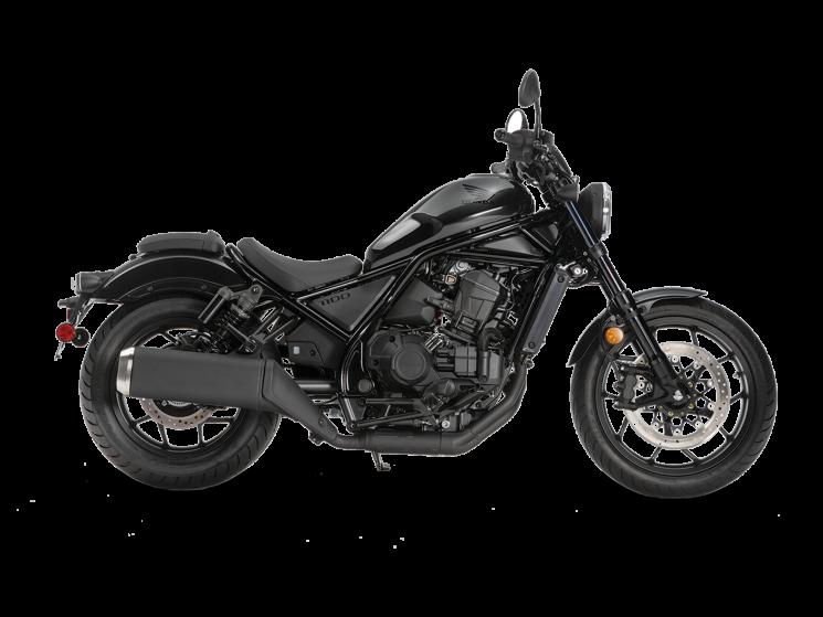 Honda REBEL 1100 DCT Noir poudre à canon métallisé 2021
