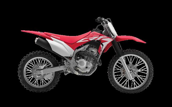 Honda CRF250F Rouge extrême 2021
