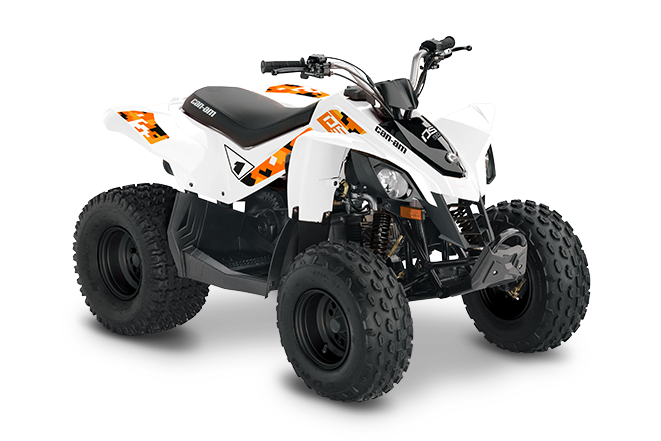 Can-Am DS 90 BLANC 2022