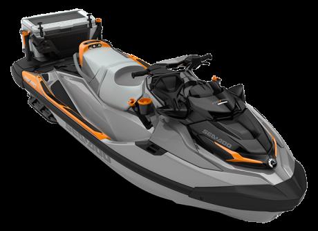Sea-Doo FISHPRO TROPHY 170 gris-requin/orange-crush 2022