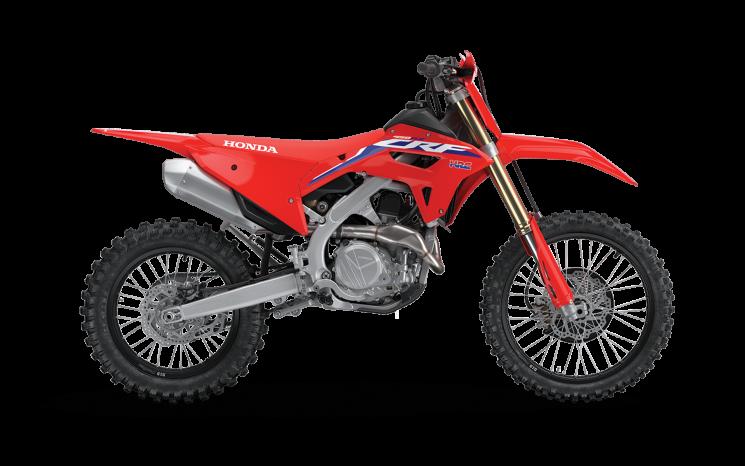 Honda CRF450RX Rouge extrême 2022