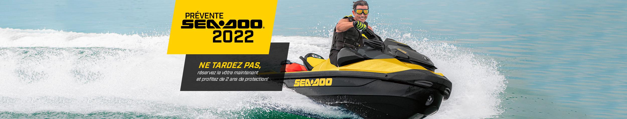 Achetez votre Sea-Doo 2022 dès maintenant pour bénéficier de certains avantages!